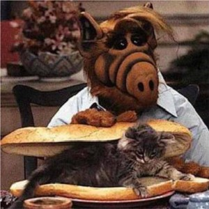 The mortal enemy of TGC: Alf